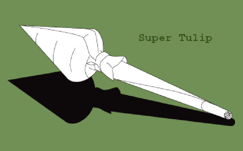 how to roll a super tulip joint